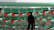 עצרת החמאס בעזה, 22.2.2014 (צילום: פלאש 90)