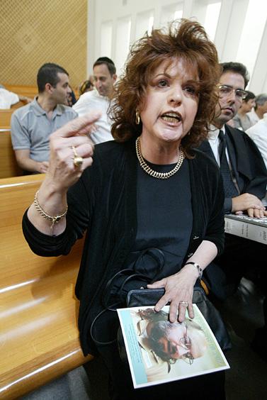 אסתר פולארד, 5 בספטמבר 2005 (צילום: פלאש 90)