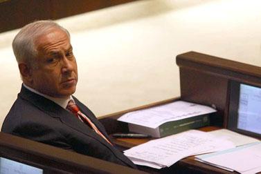 ראש הממשלה המיועד בנימין נתניהו, אתמול בכנסת (צילום: קובי גדעון)