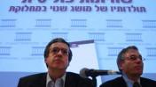 היועץ המשפטי מני מזוז (משמאל), בכנס של המכון הישראלי לדמוקרטיה, יולי 2008 (צילום: אוליבייה פיטוסי)