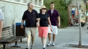 שר הביטחון אהוד ברק ורעייתו נילי פריאל, אתמול בתל-אביב (צילום: רוני שיצר)