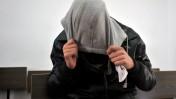 חשוד בתקיפת ערבים, בבית-המשפט בירושלים (צילום: יואב ארי דודקביץ')