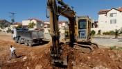 אתר בנייה בהתנחלות חשמונאים, 6.1.10 (צילום: גילי יערי)
