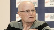"""מתי גולן, זוכה פרס ביקורת התקשורת של אגודת """"לדעת"""", מרץ 2013 (צילום: גידי אבינערי)"""