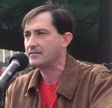 פטריק ורון בכנס של התאחדות התסריטאים האמריקאית, 9.11.07