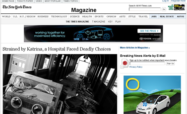 Strained by Katrina, a Hospital Faced Deadly Choices - NYTimes.com