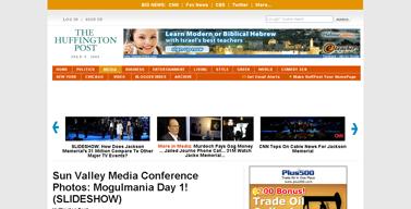 Sun Valley Media Conference Photos- Mogulmania Day 1! (SLIDESHOW)