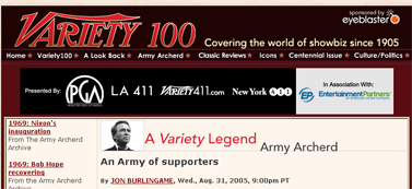 Variety100.com - Celebrating 100 Years of Variety