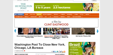 Washington Post To Close New York, Chicago, LA Bureaus