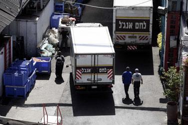 מאפיית אנג'ל בירושלים, אתמול (צילום: אביר סולטן)