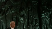 ראש הממשלה בנימין נתניהו, שלשום ביד-ושם (צילום: אוליבייה פיטוסי)