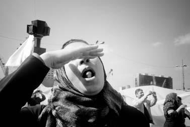 כיכר תחריר בקהיר, 12.2.11 (צילום: מגי אוסמה, רשיון cc)