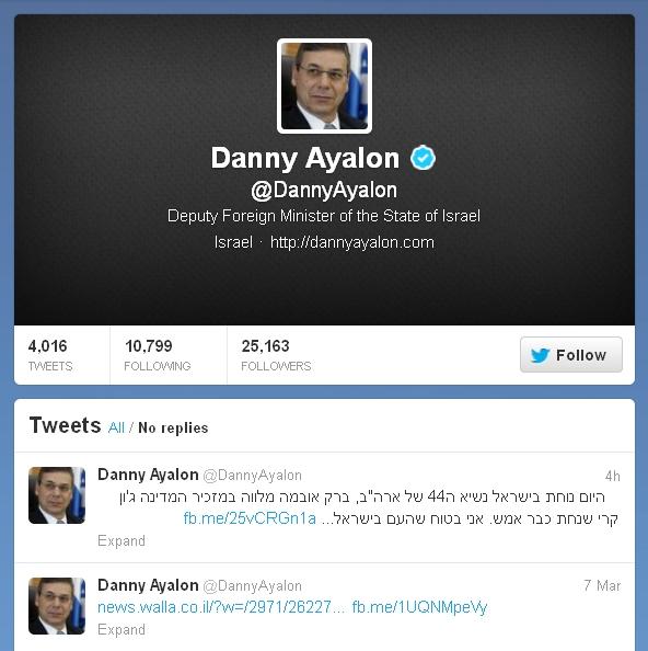 הטוויטר של דני אילון