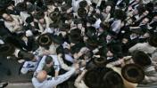 הפגנות החרדים אתמול בירושלים (צילום: אביר סולטן)