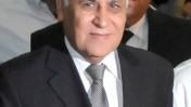 נשיא המדינה לשעבר, משה קצב, בדרכו הבוקר להקראת פסק דינו בבית-המשפט המחוזי בתל-אביב (צילום: יוסי זליגר)
