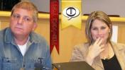 """טל שניידר וטובי פולק בכנס """"העין בעל-פה"""" (צילום: """"העין השביעית"""")"""