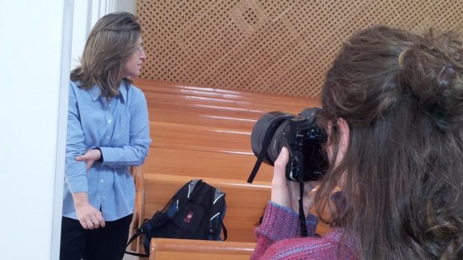 """אילנה דיין בבית-המשפט העליון, 17.4.13 (צילום: העין השביעית"""")"""