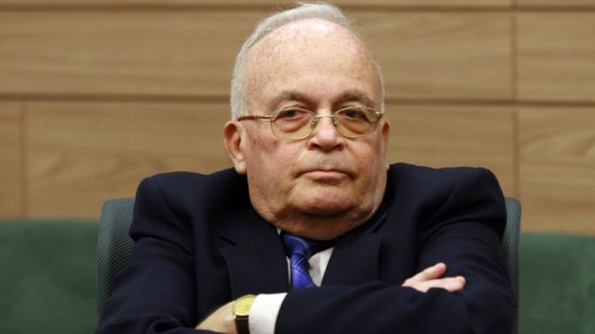 השופט בדימוס ורדי זיילר, 2008 (צילום: אוליבייה פיטוסי)