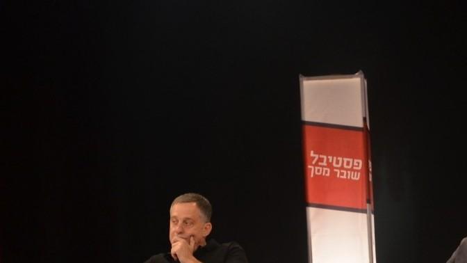 """עמנואל רוזן בפסטיבל """"שובר מסך"""", מאי 2012 (צילום: דוברות """"שובר מסך"""")"""