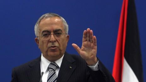 ראש הממשלה הפלסטיני סלאם פיאד (צילום: עיסאם רימאווי)