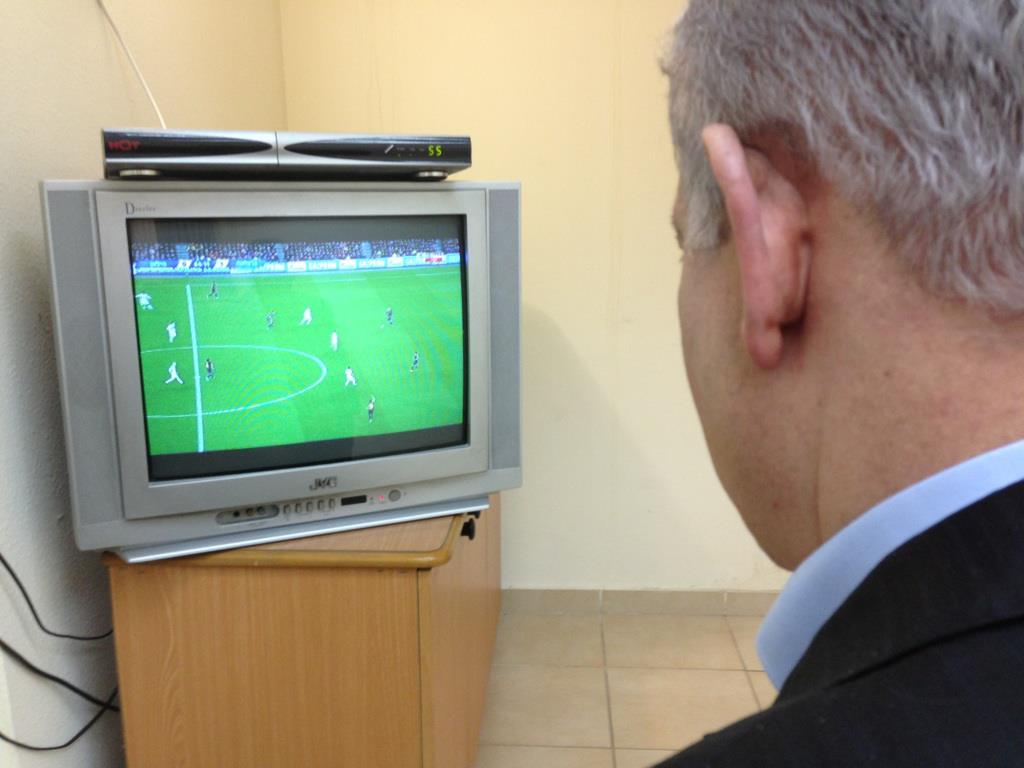 """""""איזה משחק"""" (מתוך דף הפייסבוק של ראש הממשלה בנימין נתניהו)"""