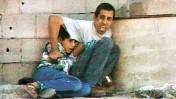 מוחמד א-דורה ואביו (מתוך סרטון פראנס 2)