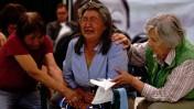 ילידה קנדית מעידה בוועדת האמת והפיוס בעניינם של עשרות אלפי ילדים שנחטפו מהוריהם לבתי-ספר ממשלתיים-כנסייתיים, יולי 2011 (צילום: מיכאל סוון, רישיון cc-by-nd)