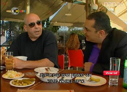 רון קופמן עולב באייל ברקוביץ' בראיון בערוץ 10 (צילום מסך)