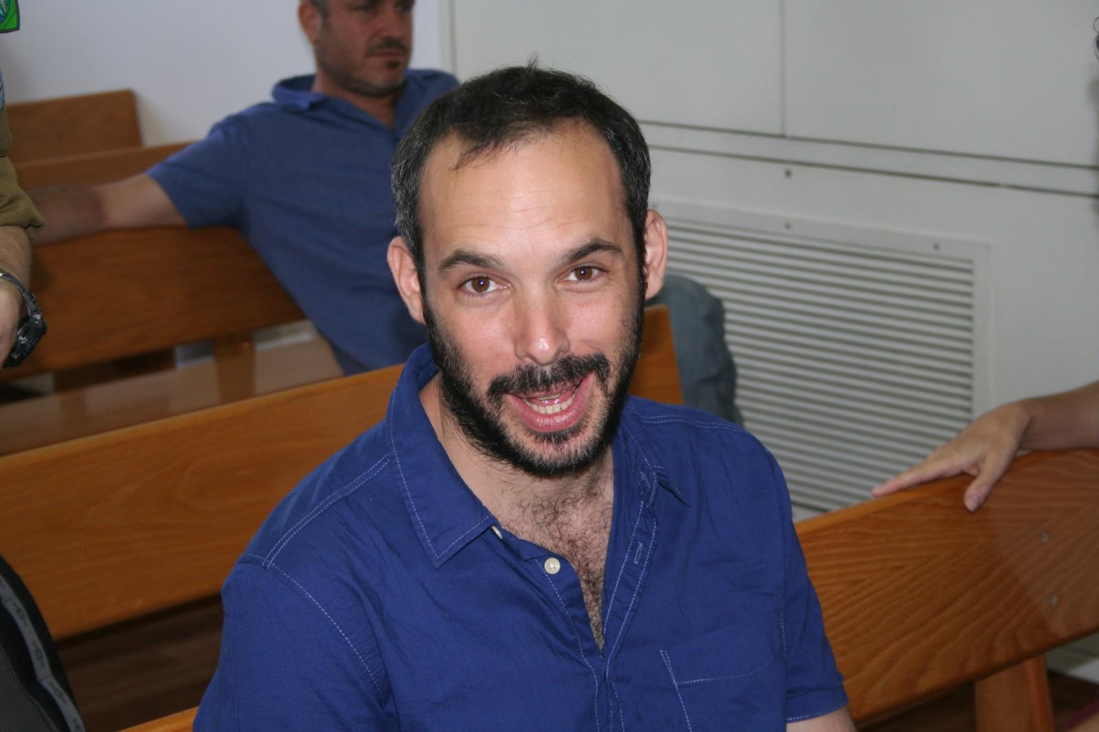 """יאיר טרצ'יצקי, יו""""ר ארגון העיתונאים, 26.5.13 (צילום: """"העין השביעית"""")"""