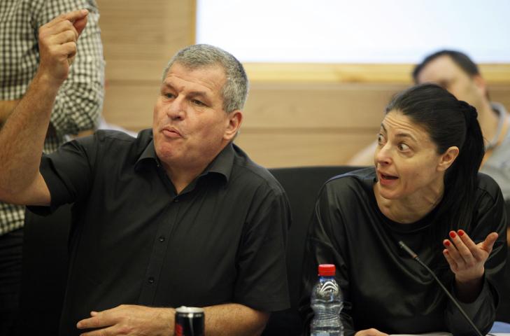חברי-הכנסת מרב מיכאלי ומיקי רוזנטל בדיון אתמול בוועדת הכספים (צילום: פלאש 90)