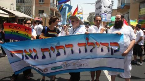 מצעד הגאווה בתל-אביב, יוני 2010 (צילום: רוני שיצר)