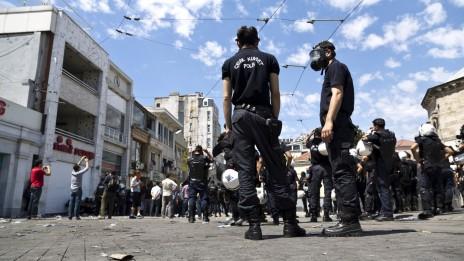 מהומות באיסטנבול (צילומים: eser.karadag, רישיון CC BY-ND 2.0)