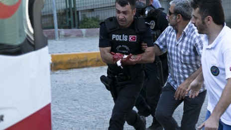 מהומות באיסטנבול (צילום: eser.karadag, רישיון CC BY-ND 2.0)