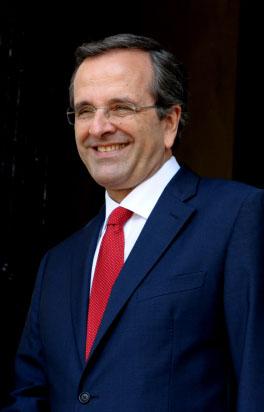 """ראש ממשלת יוון אנטוניס סאמארס (צילום: משה מילנר, לע""""מ)"""