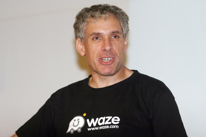 אורי לוין, מייסד ונשיא חברת הניווט וייז (צילום: גדעון מרקוביץ')