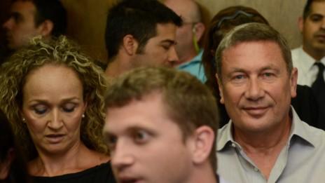 נוחי דנקנר בבית-המשפט בתל-אביב, 6.6.13 (צילום: פלאש 90)