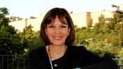 העיתונאית ג'ודית מילר בירושלים, מאי 2013 (צילום: מועדון העתונות ירושלים, JPC)