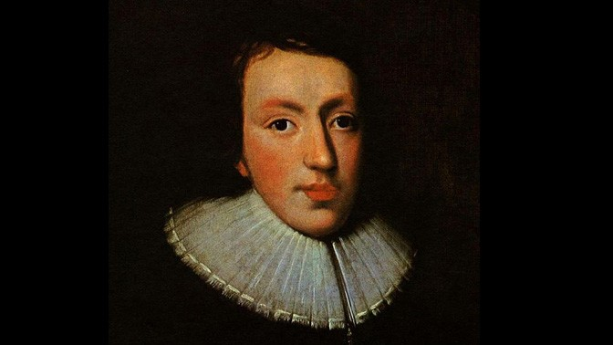 דיוקן ג'ון מילטון, סביב 1629, אמן לא ידוע