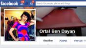 דף הפייסבוק של אורטל בן-דיין (צילום מסך)
