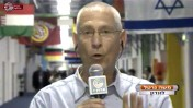 משה גרטל משדר מאולימפיאדת לונדון 2012