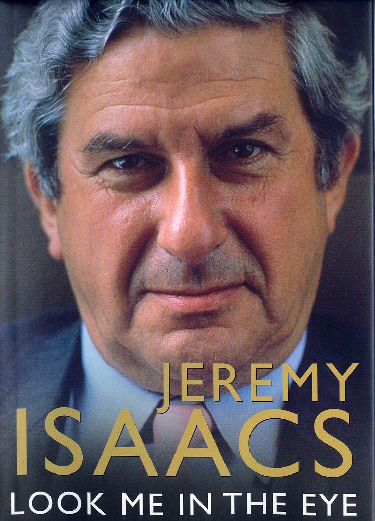 עטיפת ספרו האוטוביוגרפי של ג'רמי אייזקס