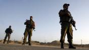 חיילי חמאס מפטרלים ליד רפיח, מאי 2013 (צילום: עבד רחים חטיב)