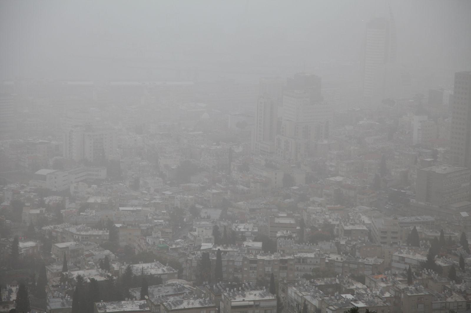ערפיח בחיפה (צילום: אבישג שאר-ישוב)