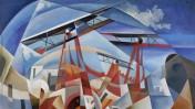 """""""פשיטה אווירית"""" (Bombardamento aereo), טוליו קרלי, 1932"""