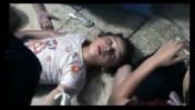 מתוך סרטון שהועלה ליוטיוב ב-21 באוגוסט, המתעד לכאורה נפגעי התקפת גז בסוריה