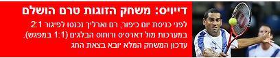 """""""המשחק טרם הושלם"""", כותרת מטעה ב-ynet"""