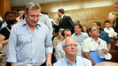 דנקנר בבית-המשפט, במהלך אחד הדיונים על השליטה בקונצרן אי.די.בי, 25.8.2013 (צילום: יוסי זליגר)
