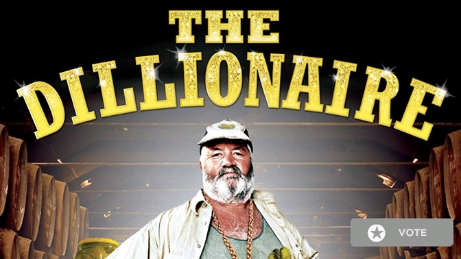 כרזת הסדרה The Dillionaire