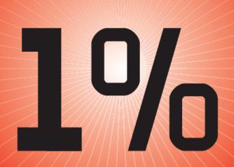 """""""1%"""", הכותרת הראשית של המוסף """"ממון"""", 24.9.13"""