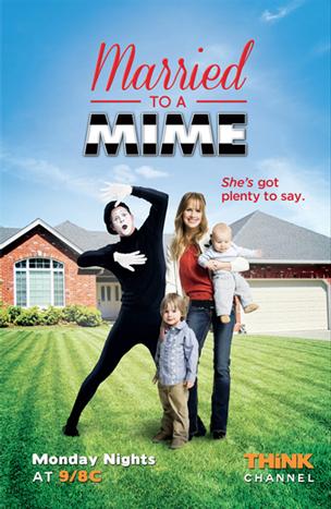 כרזת הסדרה Married to a Mime